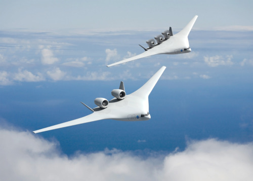 NASA has the first look at aircraft in 2025. More here.