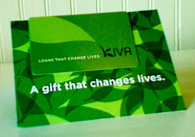 Kiva Gift Card for Loans
