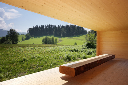 subtilitas:  View from Bernardo Bader & Paul Seurer's Moor Room.
