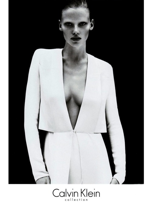 Lara for the S/S 2011 CK Campaign Preview.