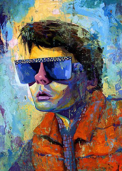 urhajos:  'Marty Mcfly' by Rich Pellegrino