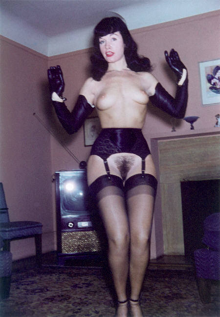 farmd0g:  Think she shaved it? pussylequeer:  Bettie Page