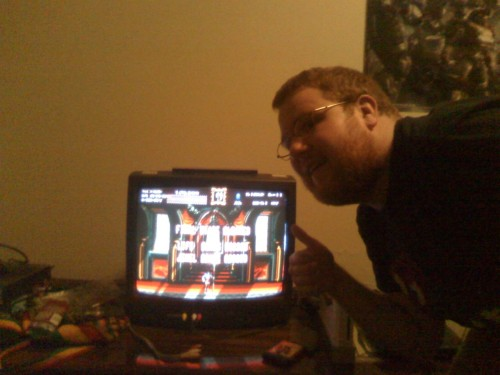 This is a tad old now, but it was a cool day when i beat Castlevania Bloodlines up at school.  A fine day indeed! Easily one of my favorite games.    :)