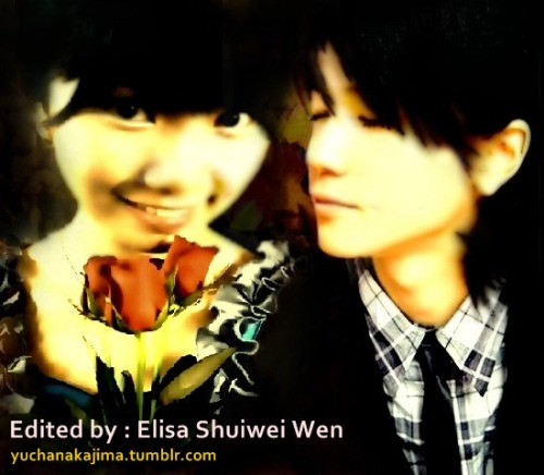 "yuchanakajima :  Me and Yuto Nakajima :) Edited by my bestfriend ""Elisa Shuiwei Wen"" Just search her name on Facebook :)"
