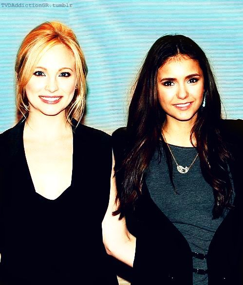 Candice & Nina at the CW's 2011 Winter TCA Party #Edit