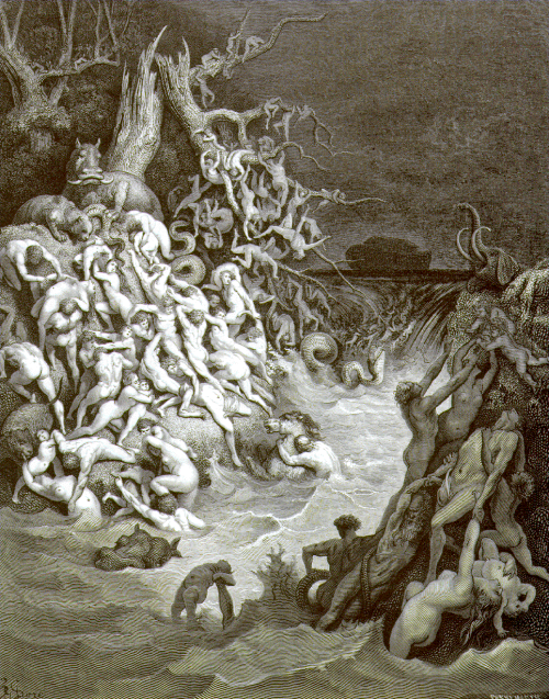 Gustave Doré The World destroyed by Water