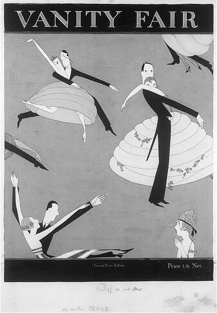 antinomies:  Vanity Fair Cover, Couples Dancing No.1 Anne Harriet Fish, 1920