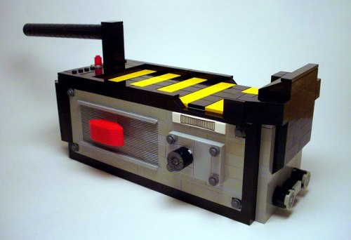 pacalin:  Lego Ghostbusters Trap - by Alex Eyelar via Super Punch