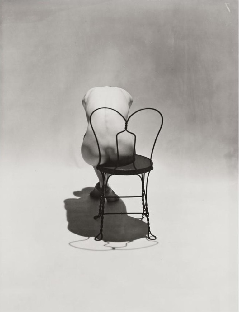 Erwin Blumenfeld, Nude on Coca-Cola Chair, 1944