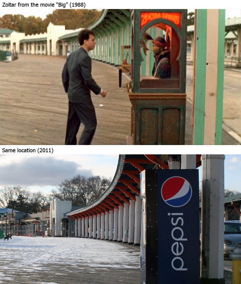 Zoltar then and now