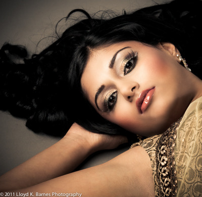 Bollywood Glamour Model: Amisha Sampat Hair & Makeup: Makeup Royale Designer: Carma Collections Photography by Lloyd K Barnes