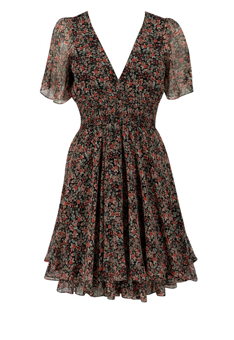 Floral Dress - Peacocks, £20