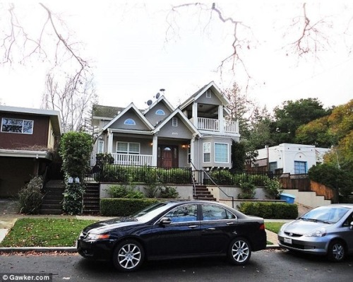 Mark Zuckerberg's new house. He's worth about $7 billion.