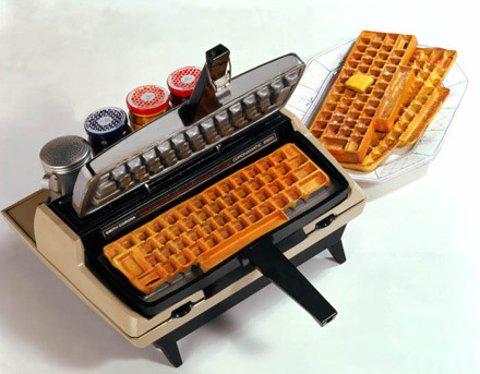 Fresh Inspiration: Keyboard Waffles!