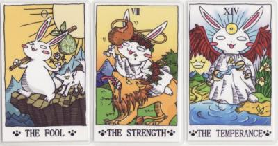 "leonineclaire:  ourcatastrophe:  the usatarot  you doing tarot? this post is pretty good.  oh, yeah, it is interesting!  the comments are crap though.  I don't actually believe in Tarot/astrology/palmistry/runestones etc, I'm very much a sceptic/atheist/materialist.  but I am interested in the history and cultural influence of what can be loosely defined as the occult.  plus I find all these things useful tools to direct my attention to things I perhaps wouldn't have otherwise considered.  my mum used to have a colleague who was a counsellor, I think she was Catholic, who used Tarot cards with some clients as a free-association tool.  I mean cold readings work because they can be tailored to any person and any situation, no?   but mainly they are pretty and talk a lot about me and that is seductive, in the same way Enneagrams and Myer-Briggs tests and ""which Buffy character are you"" and whatnot are.  I am hugely sceptical of ""scientific"" personality tests as well — I think they're useful for finding out about how someone sees themselves and that's about it.  in my opinion they're kind of more dangerous than cosmic tree wizard stuff because they have more mainstream credibility.  having said that, I really need to be more careful because I have friends and  acquaintances who can't help but take this cosmic stuff seriously on some  level.  I am often in the weird position of being the one who's like ""How can you reject someone as a lover because they're a Gemini?  That's ridiculous!  Do you even know anything about the rest of their chart?  What about Venus, Mars, the Moon?  Where are they, what are their aspects, what are yours, how do they work together?  Those are the things you really want to know about for romantic compatibility. No, I don't believe in astrology."""