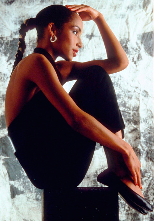 The beautiful Ms. Sade