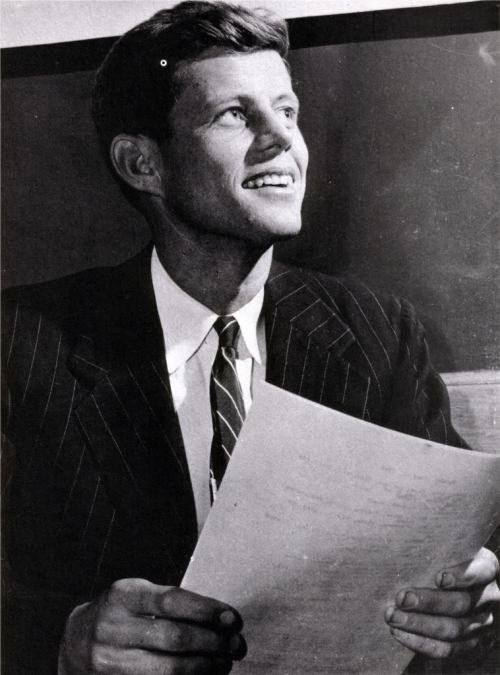 Representative Jack Kennedy in the 1940s.