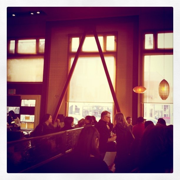 Brunch crowd (Taken with Instagram at Nopa)