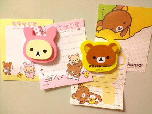 I love note pads :) ♥