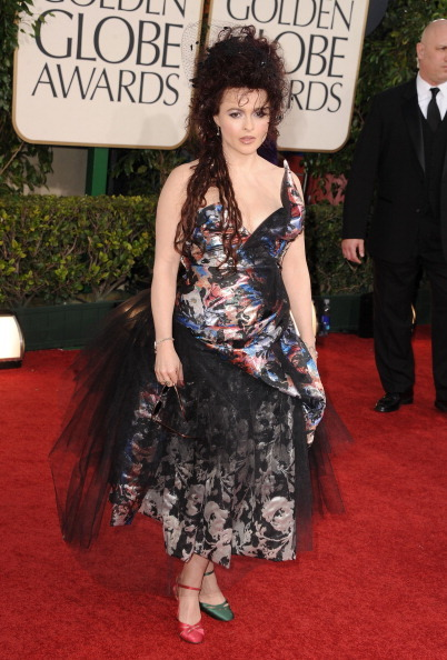 Helena Bonham Carter - Golden Globe Awards, January 16th 2011 The shoes! The dress! The hair! The EVERYTHING!