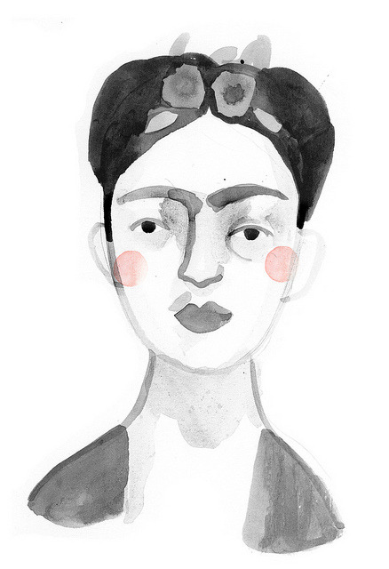 paperthinanchor:  frida frida frida by clare owen.