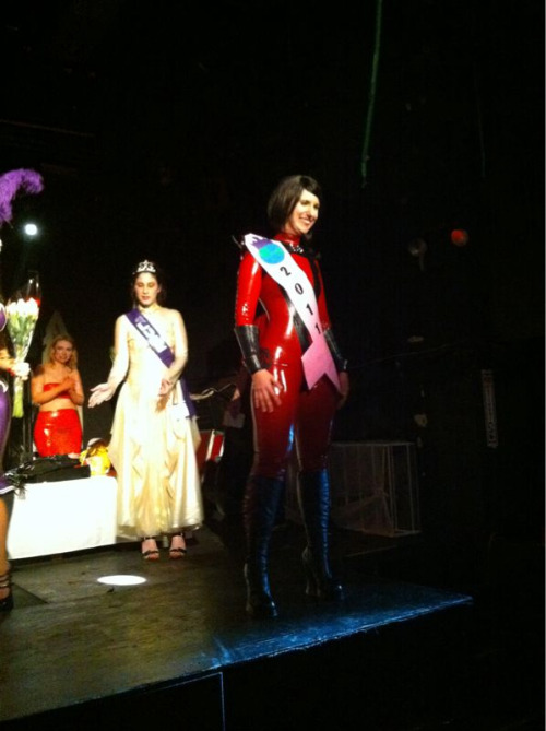 Introducing MISS RUBBER WORLD 2011… Archean!
