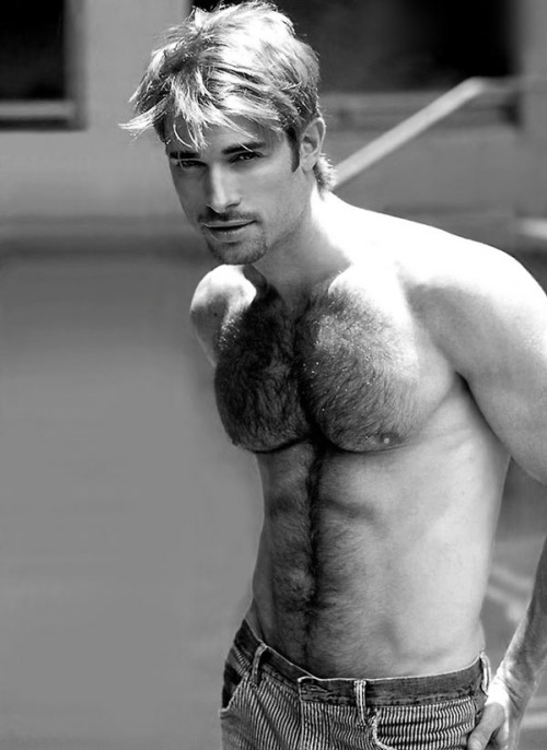 austinjock:  Men are hotter when both hairy and fit.