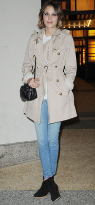 Trenchcoat: Burberry Jeans: Topshop Shoes: A.P.C. Bag: Chanel