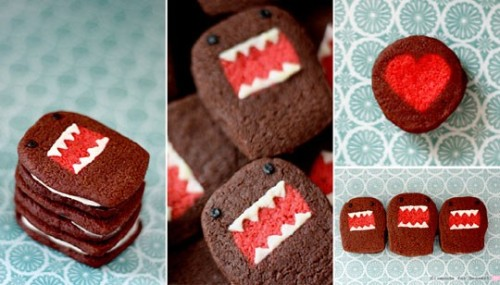 thecookiecollection:  Domokun Cookies(And how to make them!!)