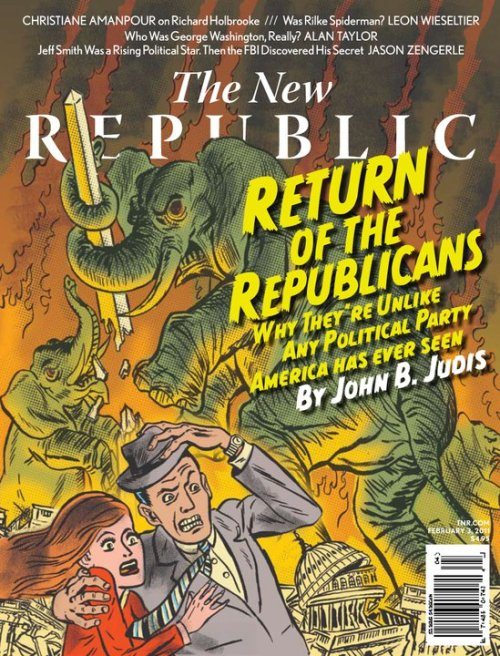 Illustration: Return of the Republicans. Erik Johnson 2011