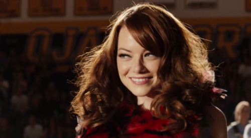 Easy A (2010) Okay, so it's not masterpiece theater, but Emma Stone is really fucking amazing. B-