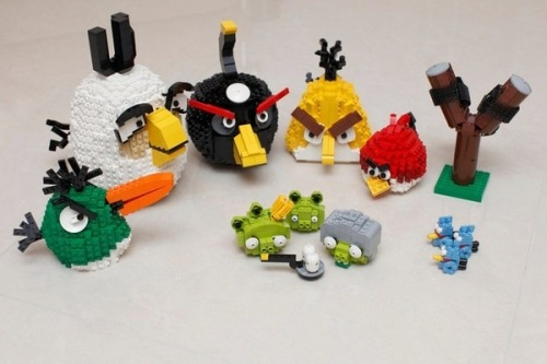 http://www.buzzfeed.com/scott/lego-angry-birds Author: Diaz Tone: EVERYTHING IS AMAZING Outcome: Pending