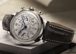 Baume & Mercier Capeland Flyback Chronograph  Baume & Mercier really hit it on the nail with this retro looking chronograph!