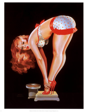 ireallyheartcupcakes:  I love Peter Driben Pin Ups. I need to get a book of his artwork for my coffee table.