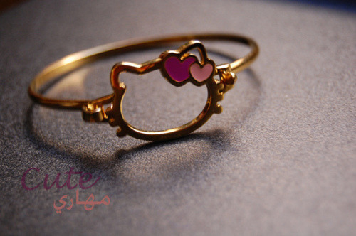 Hello Kitty Gold Bracelet