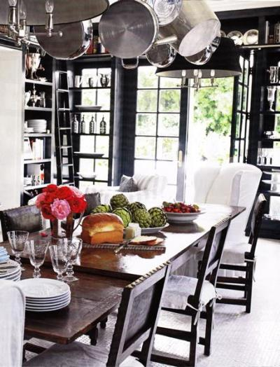 luxe + lillies: BLACK + WHITE BLISS