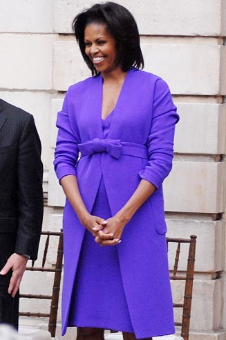 Michelle Obama's Complete Style Evolution First lady Michelle Obama turns 47 on Jan. 17, and to mark the occasion, we're taking a look back through her fashion highs and lows. From her signature nipped-waist dresses and embellished cardigans to those shoulder-baring gowns and bold graphic prints, Obama has been a force of style to reckon with since joining her husband on the campaign trail in 2008. Full story on StyleList here. [Dziekan, Retna Digital]