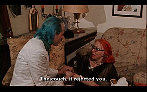 """The couch, it rejected you."" John Waters' Pink Flamingos (1972)"