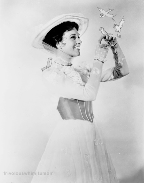 frivolouswhim:  Julie Andrews as Mary Poppins