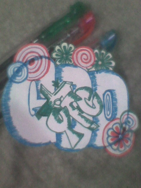 i got only 3 colors of pen.haha LOL :D