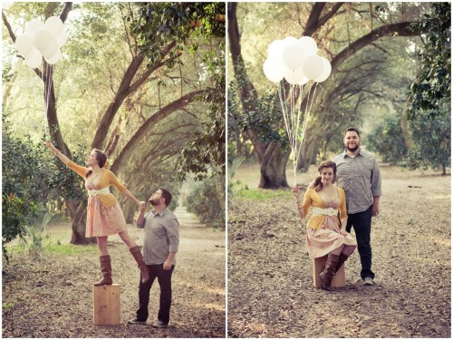 Orange Grove Engagement Session.