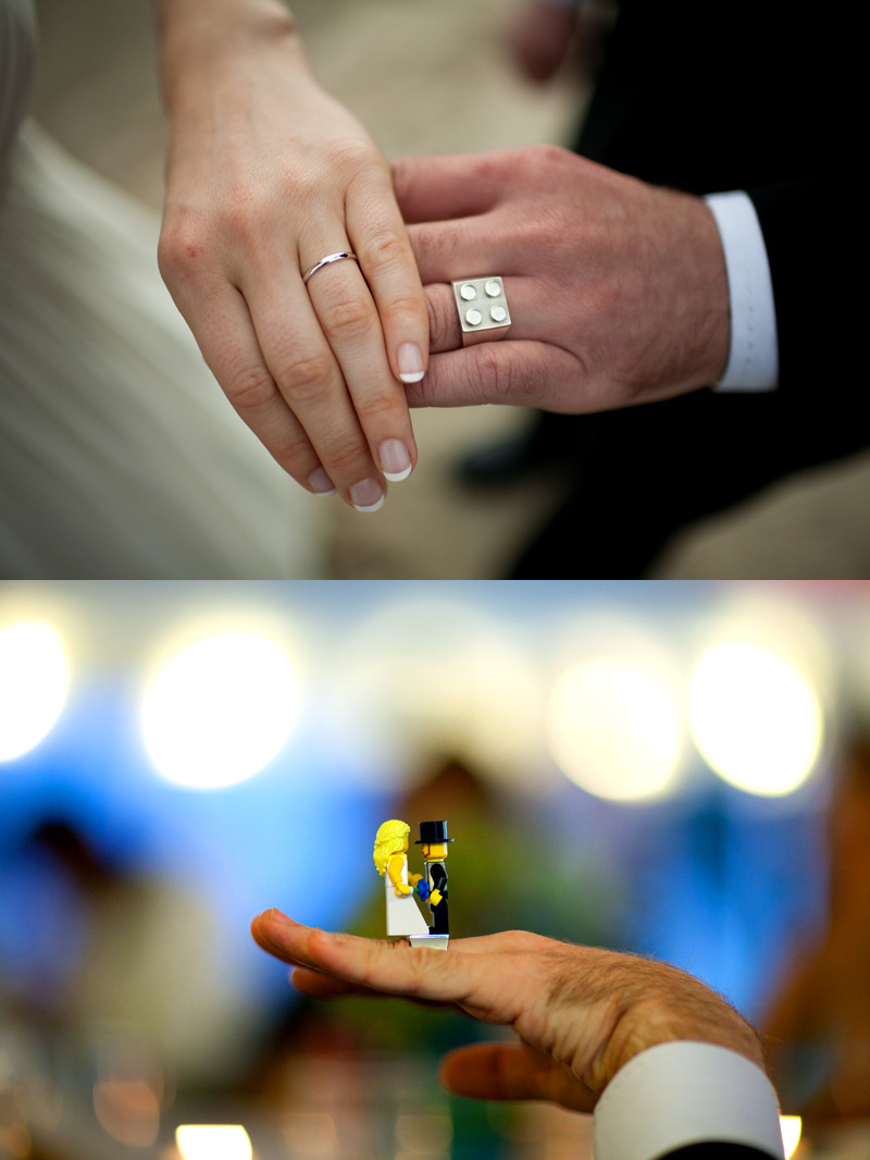 Lego wedding ring COOLNESS! I miss my Legos!