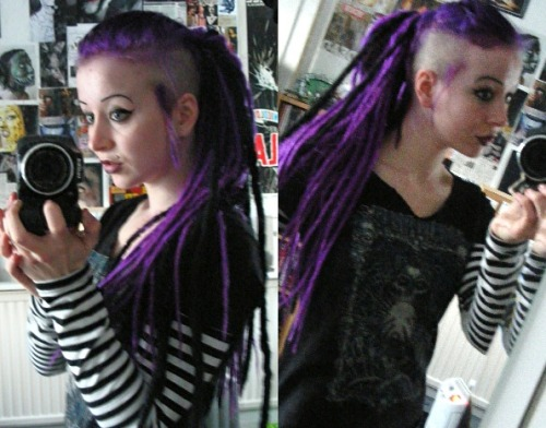 dreads in the hawk, what do you think? :-) x