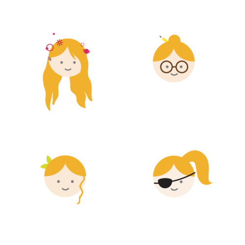 Working on some identity things. Paying homage to the ginger-ness.