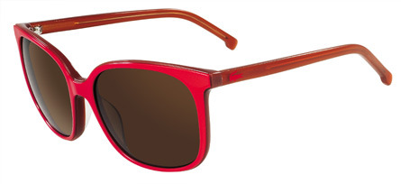 whiskeysoaked:  Love the shape of these Lacoste sunglasses