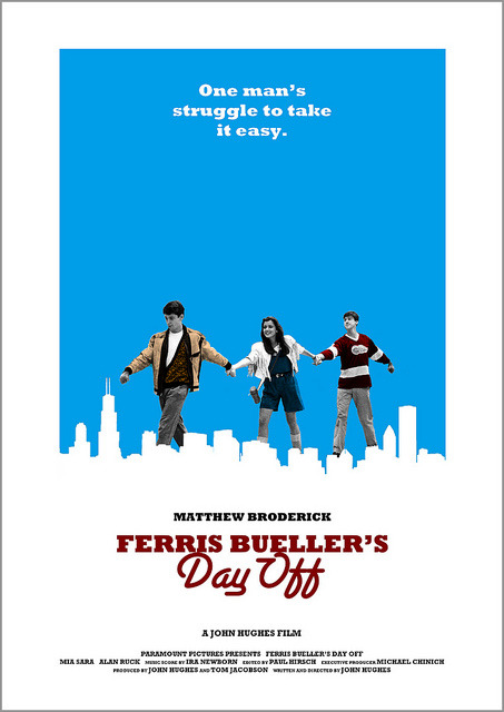 Ferris Bueller's Day Off by Owain Wilson