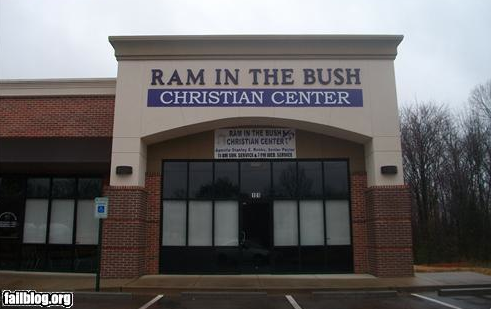 Ram in the Bush Christian Center (Found at http://www.jesusneedsnewpr.net)