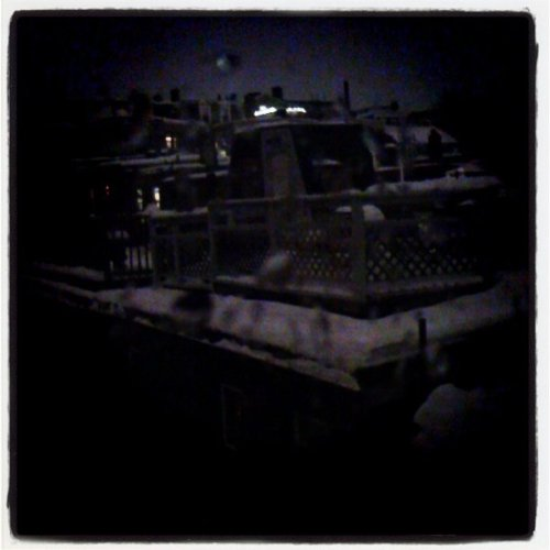 Charlestown at night. (Taken with instagram)
