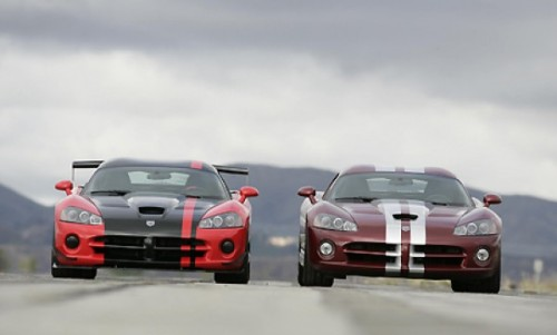 Dodge Viper SRT10 ACR and Dodge Viper SRT10