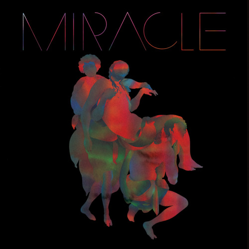 Cover for MIRACLE. A new wave band with Steve Moore and Daniel O' Sullivan. (click for video)